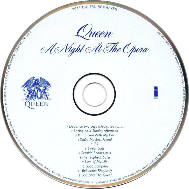 """Queen """"A Night At The Opera"""" album gallery"""