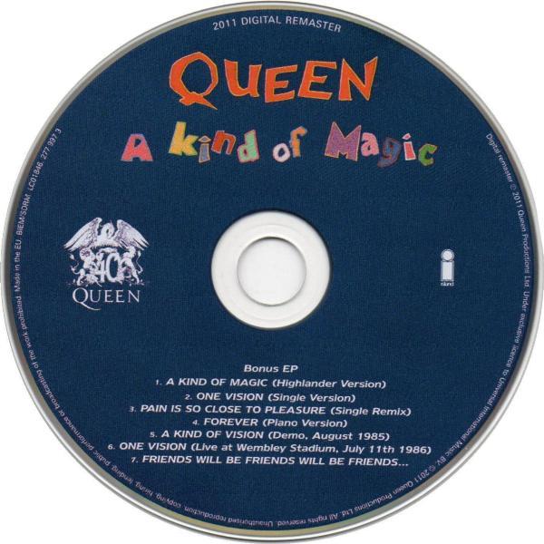 Queen Quot A Kind Of Magic Quot Album Gallery